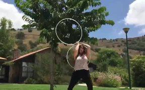 Mesmerizing Hoop Dance You Have Not Seen Before