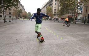 Slalom Skating Tricks