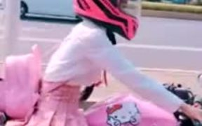 Pink Is The Riding Color Yo!