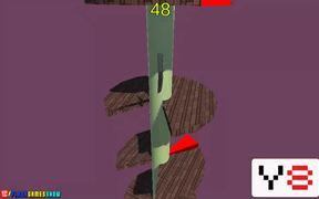 Helix Knife Jump Walkthrough