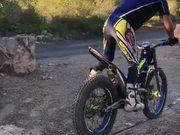 Very Impressive Motorcycle Balancing Skills