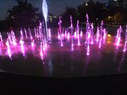 Colorful Dancing Fountain