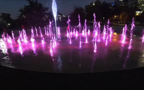 Colorful Dancing Fountain