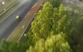 Car Races From A Drone's Perspective