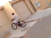 Bicycle Stunt Went Wrong