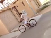 Bicycle Stunt Went Wrong