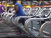 The Coolest Dance Routine On A Treadmill
