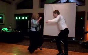 Mind-Blowing Dance By A Lady And Her Son