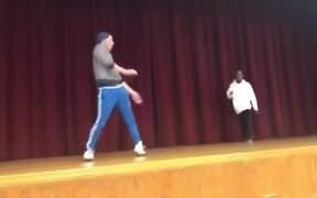 Teacher & Student Decided To Fight It Out.