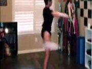 Ballerina Spins Taken To A Different Level
