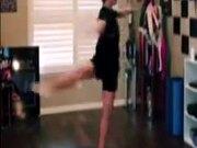 Ballerina Spins Taken To A Different Level