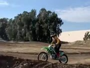 Guy Rips Some Mad Wheelies And Amazing Jumps