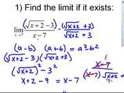 Limits Test Review