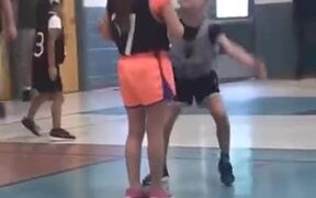 Defending In Basketball Definitely Isn't Her Thing
