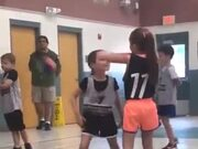 Defending In Basketball Definitely Isn't Her Thing