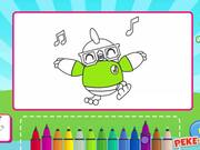 Didi and Friends: Coloring Book Walkthrough