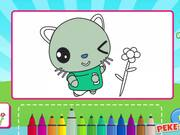 Didi and Friends: Coloring Book Walkthrough