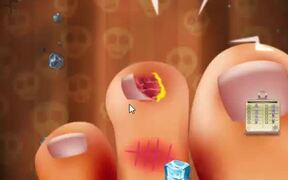 Crazy Halloween Nail Doctor Walkthrough