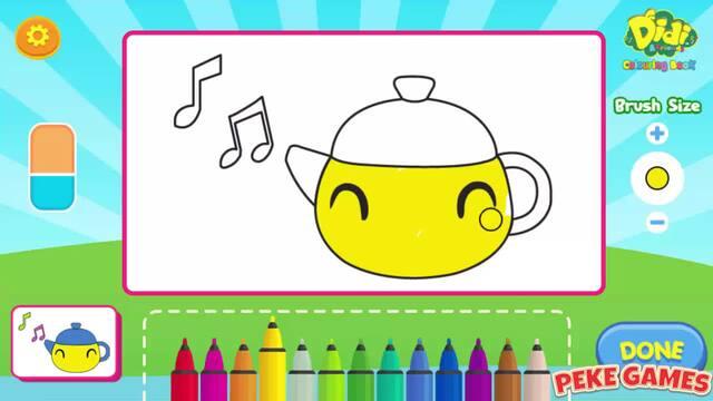 فيديو Didi And Friends Coloring Book Walkthrough شاهد