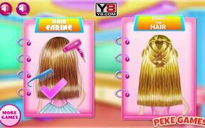 Baby Girl Braided Hairstyles Walkthrough