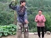 Grandma Forgot Her Dance Steps