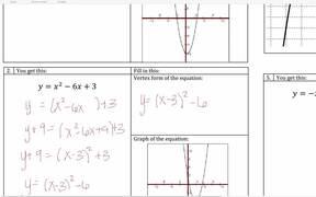 Lesson - Quadratic Review