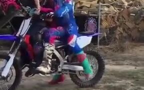 When The Whole Family Is Into Motocross