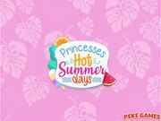 Princesses Hot Summer Days Walkthrough
