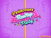 Princesses Rooftop Party Walkthrough