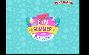 Girly Summer Patterns Walkthrough