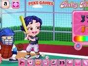 Baby Hazel Baseball Player Dressup Walkthrough