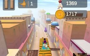 Aladdin Runner Walkthrough