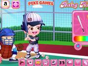 Baby Hazel Baseball Player Dressup Walkthrough
