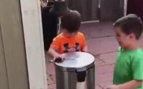 Children Having Fun Without A Screen
