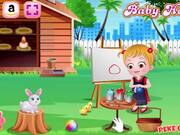 Baby Hazel Easter Fun Walkthrough