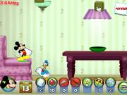 Mickey And Friends in Pillow Fight Walkthrough