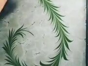 A Beautiful Painting With Water