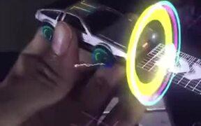 A Magical Holographic Delorean