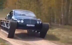 Enter The Bentley Tank
