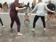 The Youngest Fitness Instructor Ever