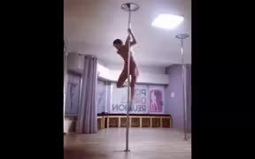Pole Dancing Taken To Artistic Levels
