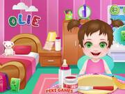 Baby Olie 1st Day at School Walkthrough