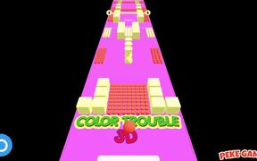 Color Trouble 3D Walkthrough
