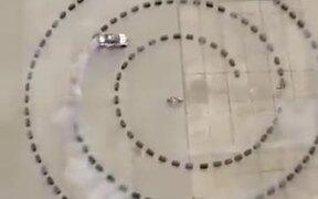 Amazing Spiral Car Drifting