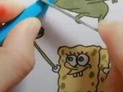 Amazing Spongebob Squarepants Artwork