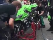 Superbike Or Wheelbarrow, Pit Stops Are Pit Stops