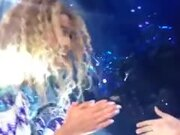 A Girl At The Beyonce Concert Sings Amazing
