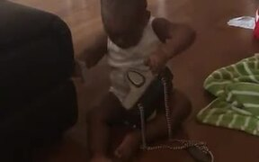 Toddler Takes Off With The Money