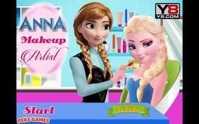 Anna Makeup Artist Walkthrough