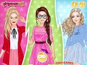 Princesses as College Divas Walkthrough